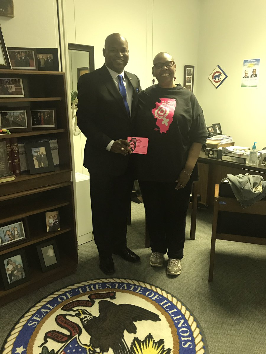 test Twitter Media - Enjoyed meeting with my constituent Annie Williams from Hillside who came to be a part of the Women's March!  #womensmarch #MovingForward https://t.co/zxGIcWhkd4