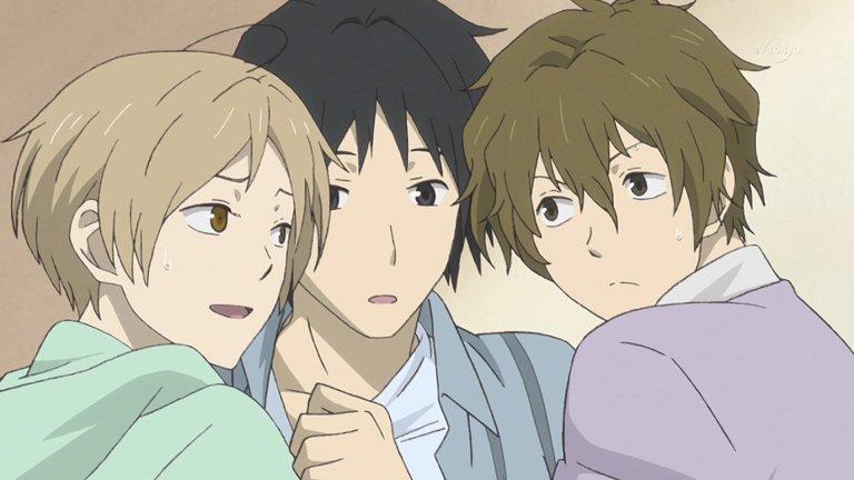 夏目&田沼&柴田の3人組ってけっこういいなと思ったり #夏目友人帳  #夏目友人帳陸  #natsume