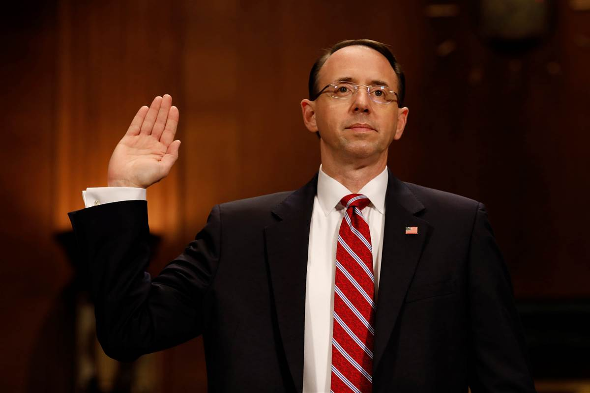 Senate confirms deputy attorney general in charge of Russia investigation