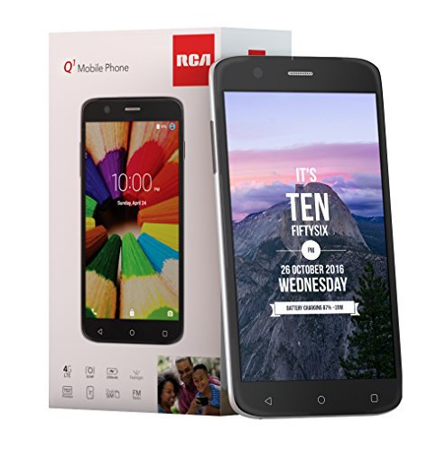 #news #free #giveaway #music RCA Q1 4G LTE, 16GB, Unlocked Dual SIM Cell Phone, Android 6.0