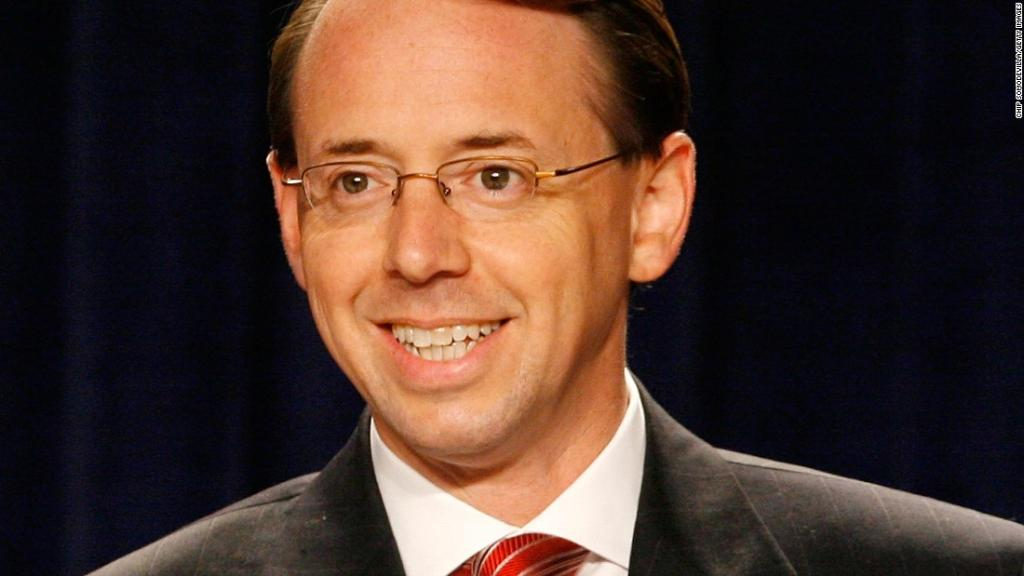 Rod Rosenstein has been confirmed to be the next US deputy attorney general