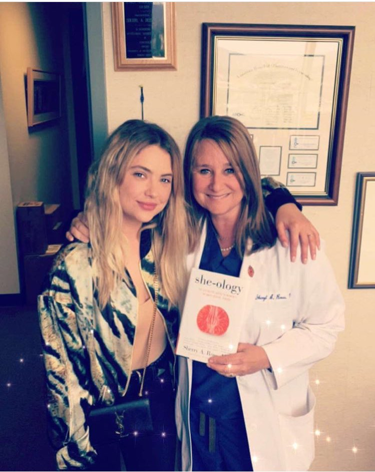 Love love love this woman ))) always making sure I'm good #DrSherryRoss and her new book is out today!!! #sheology