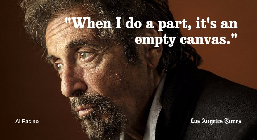 Happy birthday, Al Pacino. The actor turns 77 today.