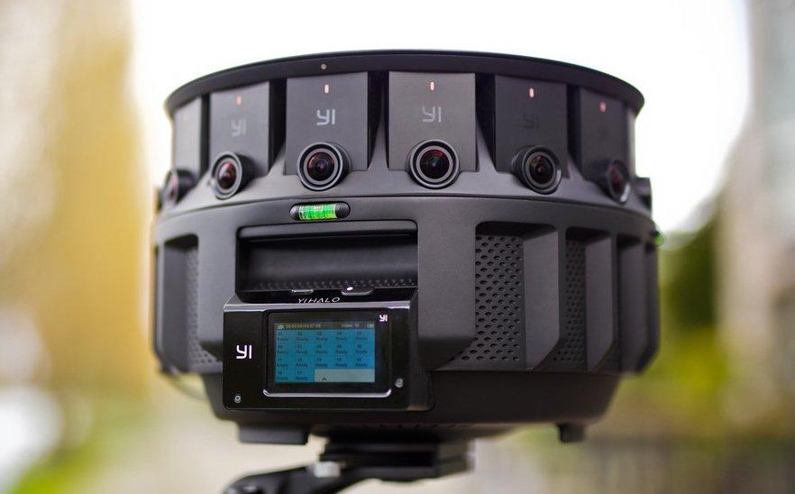 Una cámara VR para grabar con al hiper alta resolución (8Kx8K) #fotografía #tecnología