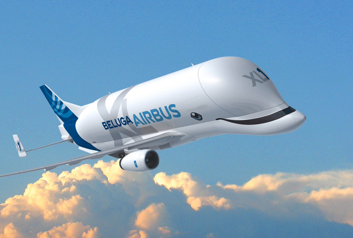 El avión de carga Beluga XL nos sonreirá desde el aire #Aerotrastorno