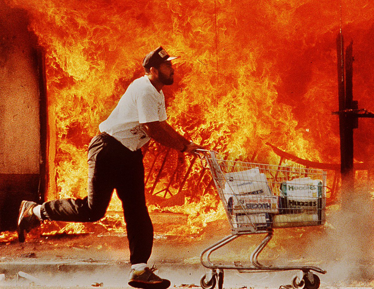 Three black journalists talk about the L.A. Riots, 25 years later