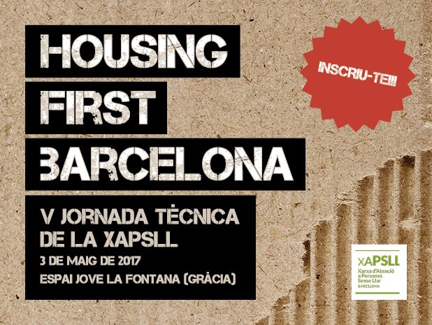 test Twitter Media - 📝🏡 Ja t'has inscrit a la V jornada tècnica de la @xapsllb? Informa't! #HousingFirstBarcelona https://t.co/BWdb71s633