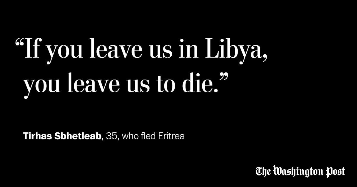 A European deal with Libya could leave migrants facing beatings, rape and slavery