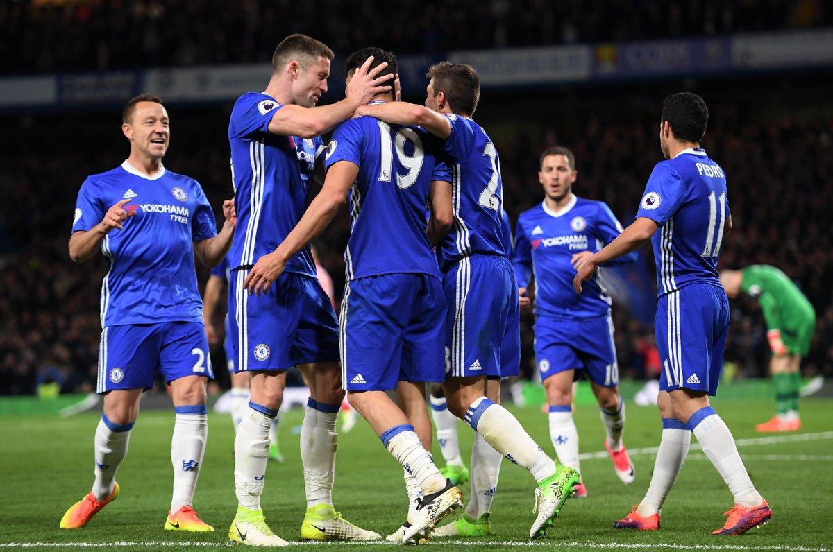Un paso más cerca / One step closer. Come on Blues!! 💪🔵@ChelseaFC #CFC #CHESOU