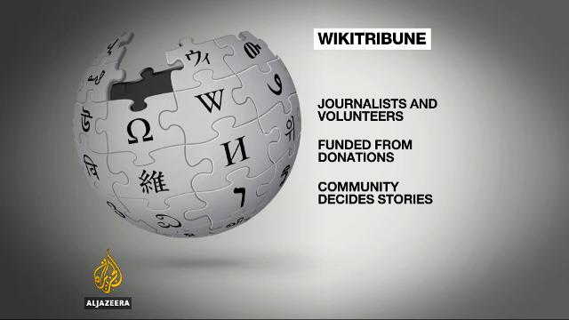 Wikipedia co-founder launches Wikitribune to combat fake news