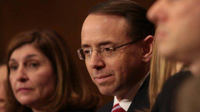 Senate confirms deputy attorney general who will now lead Russia investigation