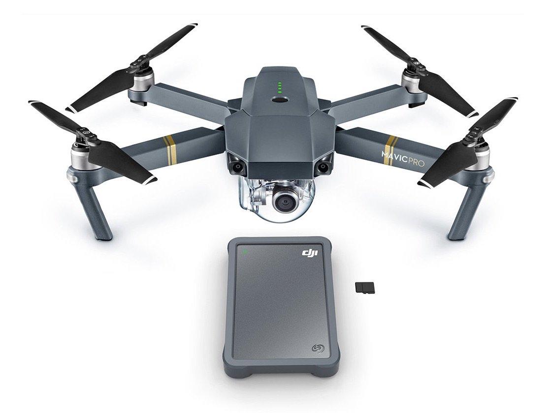 DJI nos presenta Fly Drive, su disco duro para drones -