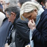 """At meat market, the far-right Le Pen backs """"eating French"""""""