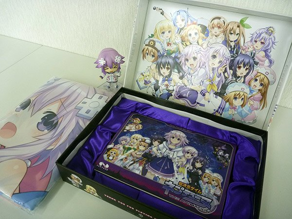 【本・日・発・売】ネプテューヌいかがっすかー? BD-BOXそして発売へ…!!!! #ネプテューヌ