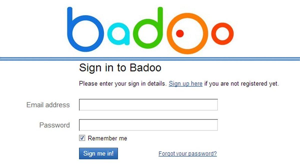 Badoo login