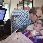 Fully paralyzed, Kansas City woman writes weekly book reviews — using only her eyes