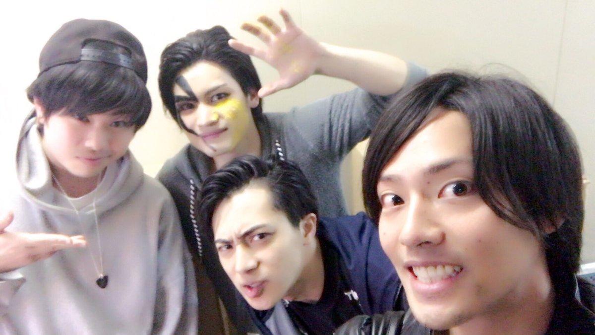 舞台『破壊ランナー』を観劇して『私のホストちゃん REBORN』で共演した米原幸佑さん、河原田巧也さんにもお会いできた!