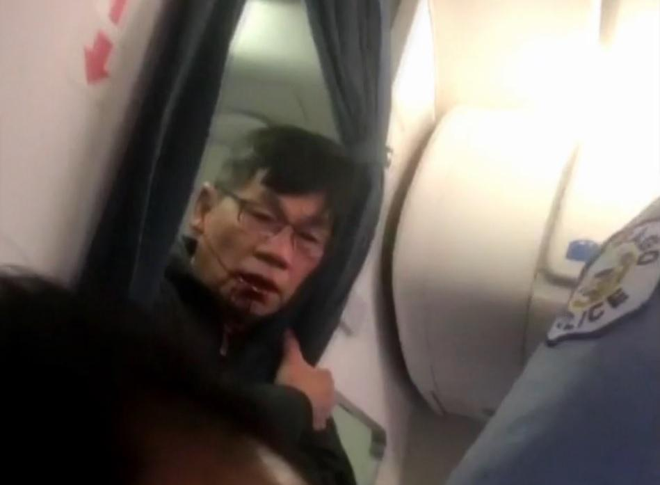 Passenger in United confrontation was combative, aviation officer says: