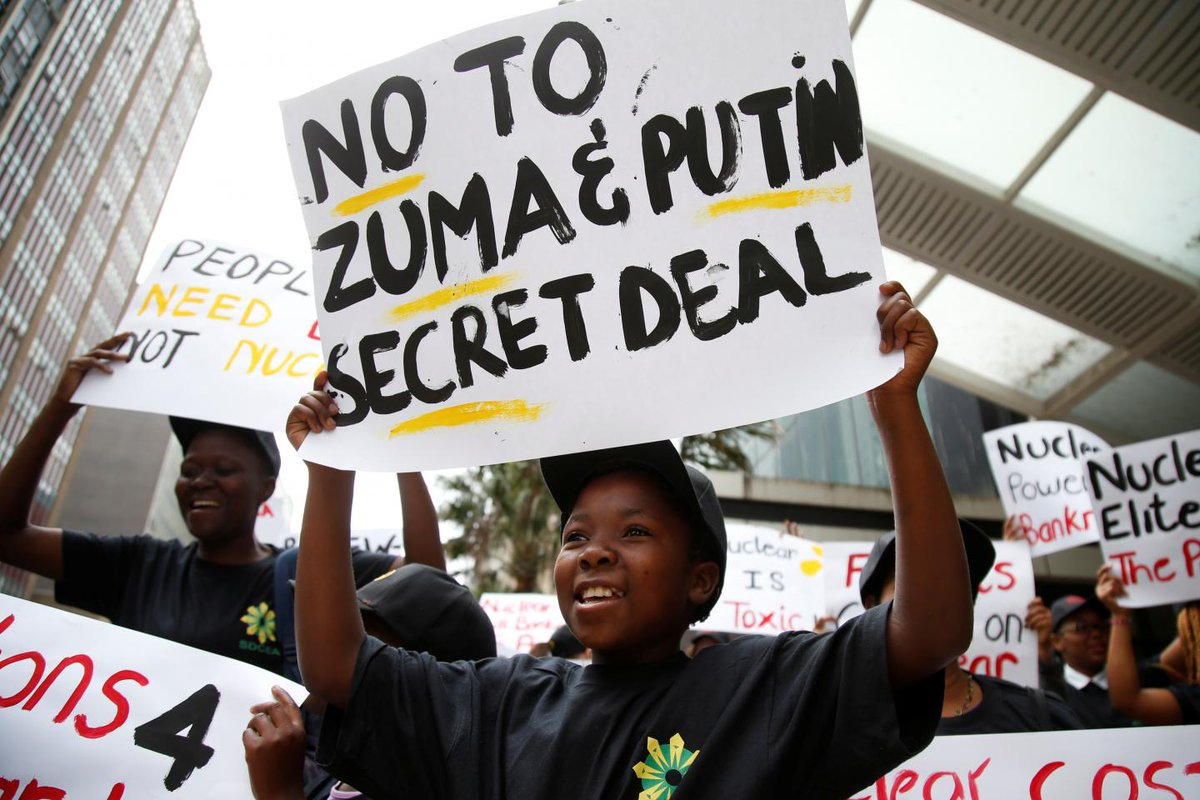 South Africa's $76 billion Russian nuclear plan gets shot down by court
