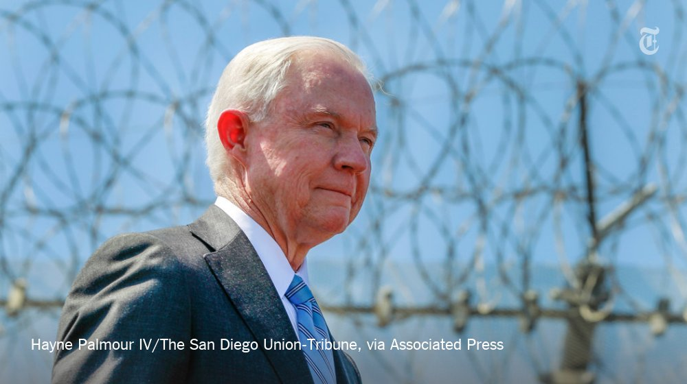 Jeff Sessions promises to enforce an anti-bribery law that President Trump called 'horrible' https://t.co/GDlMzfNN1b https://t.co/6nstQUGgqC
