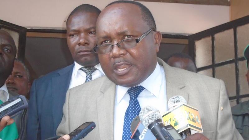 Tharaka Nithi Governor Says he will not be intimidated by striking Nurses
