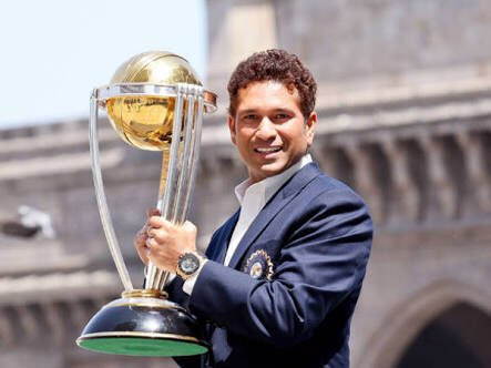 Think Cricket Think Sachin Tendulkar, Happy Birthday Rajkot is waiting ....