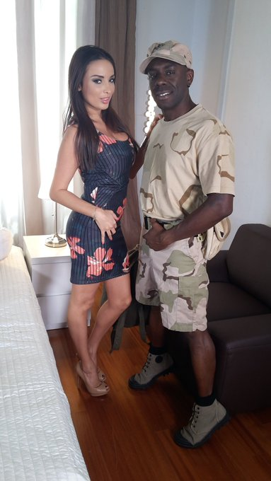 So glad to shoot with my friend @JossLescaf for @DDFNetwork . He is back from the Army lol https://t
