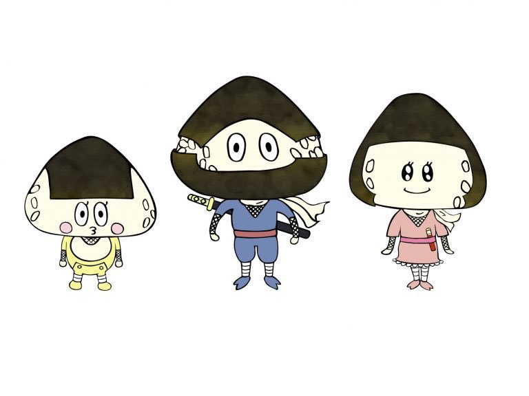 "#onigiri #おにぎり""Song of onigiri"" おにぎりの歌   via"