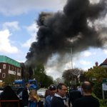 LIVE: Cancer Research UK building at The Christie Hospital on fire