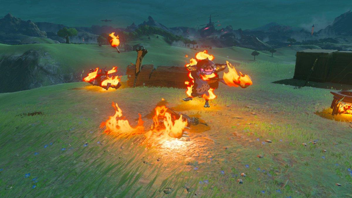 灰と幻想のグリムガル #ゼルダの伝説 #BreathoftheWild #NintendoSwitch