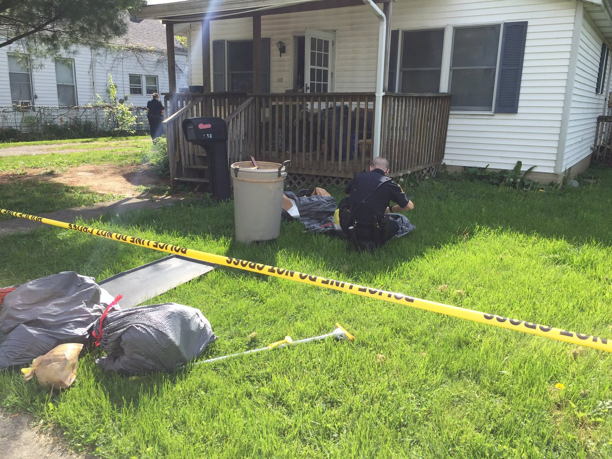 the blanchester home a woman was held captive in the backyard shed