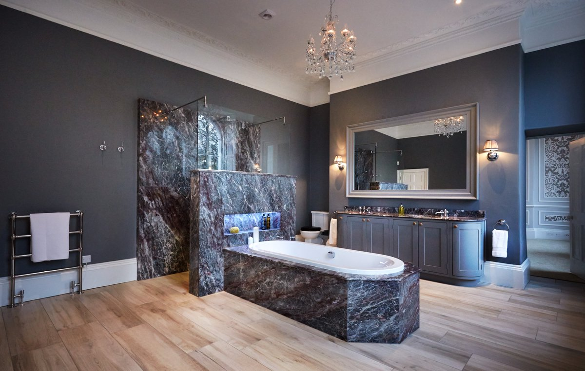 test Twitter Media - This bathroom features a cleverly designed walk through shower accessible from both sides and is finished in marble for a touch of luxury. https://t.co/oHwrqoSZC2