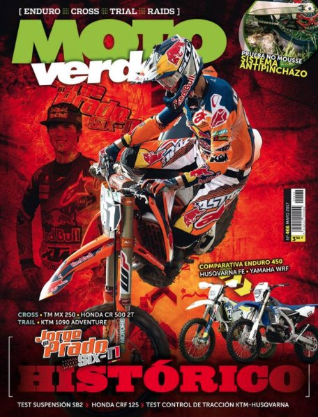 Deseando ir al quiosco y comprar el Motoverde de este mes 👌 Thanks to Motoverde magazine for such a nice cover 👌 https://t.co/4QwRg5SNYv