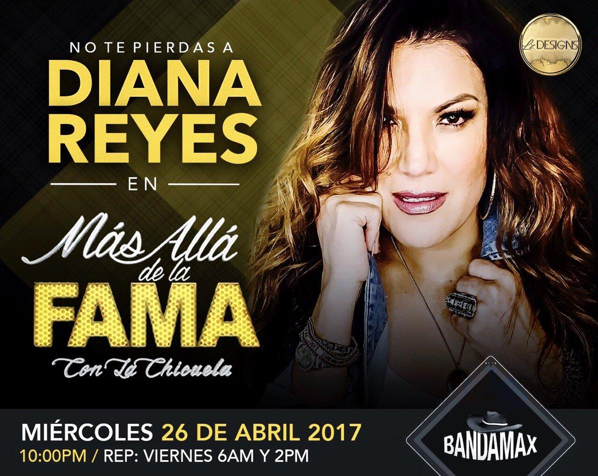 test Twitter Media - No se pierdan en unas horas mas a la bella @DianaReyesMusic en @MasAllaDeLaFama con la @chicuela 10:00PM @TvBandamax 😍👏🏻👏🏻 https://t.co/9BR1FlpsDs