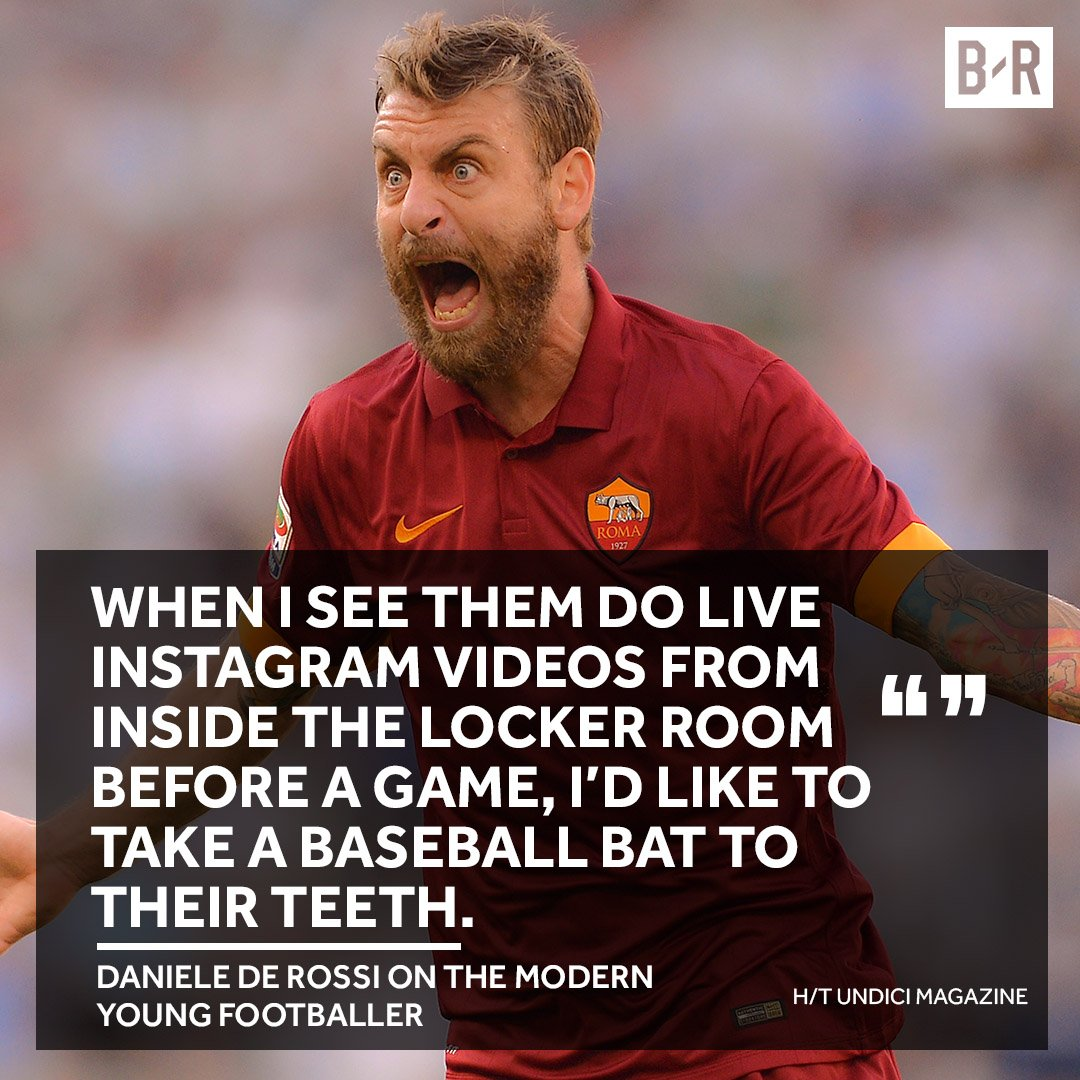 Memo to young footballers don t bring your social media into