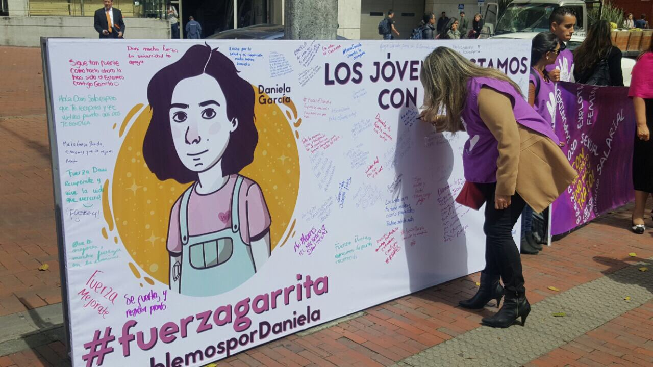 #HablemosPorDaniela #ConMaltratoNoHayTrato @gloria_stella @MovimientoMIRA  Uniandes https://t.co/j8rlTpX8Se