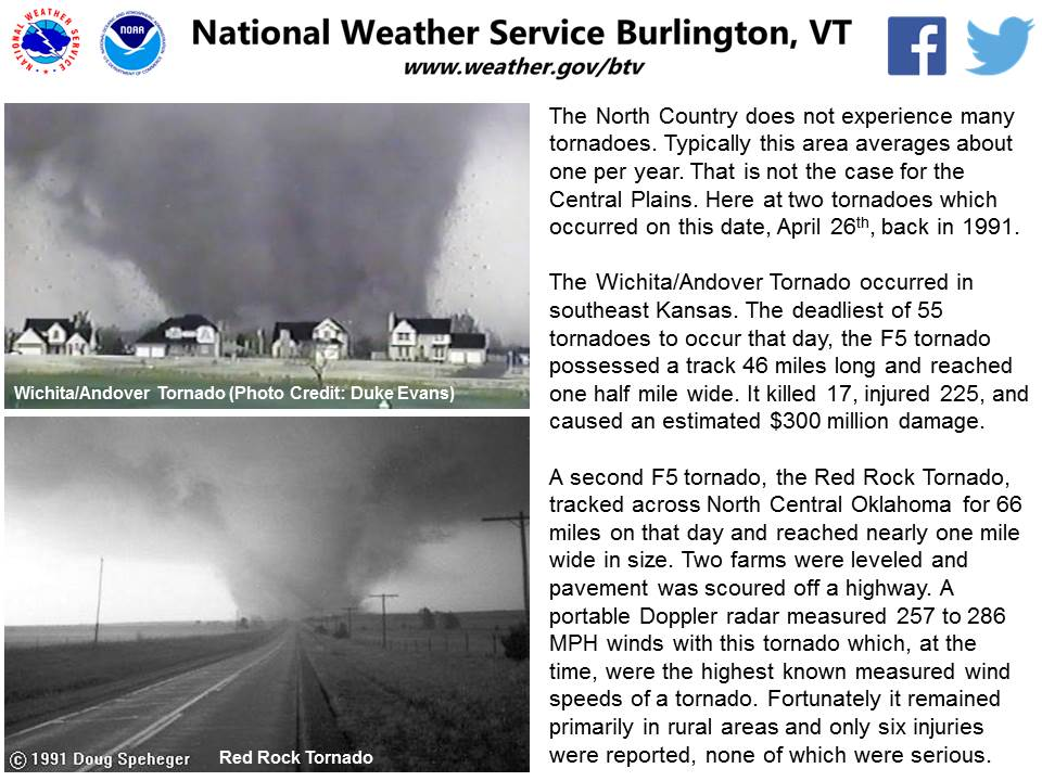 test Twitter Media - April 26th, 1991 - a significant day in tornado history. Here's a look back with information from our NWS friends @NWSWichita @NWSNorman https://t.co/ug0jlKYeY0