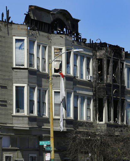 Tenants sue over California building fire that killed 4
