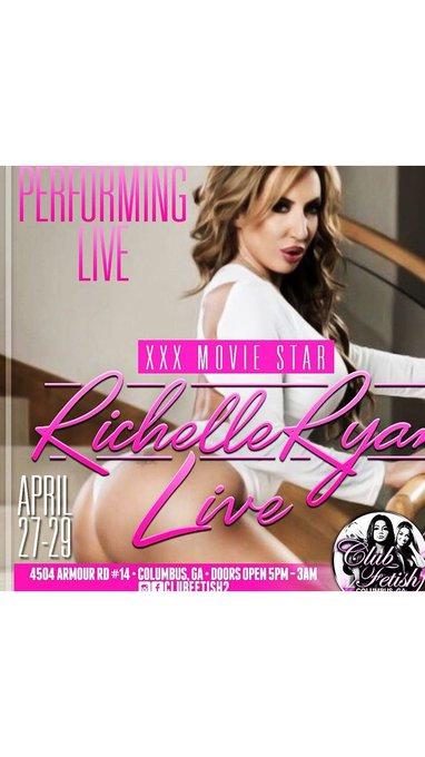 #Columbus Georgia I'm bringing my booty to Club Fetish April 27-29  2 Stage Shows a night plus VIP's