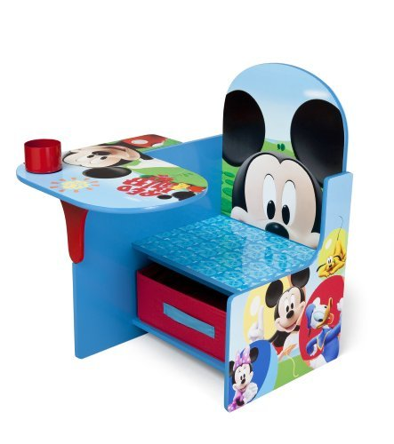 Delta Children Chair Desk With Storage Bin, Disney Mickey Mouse #news #toys #giveaway