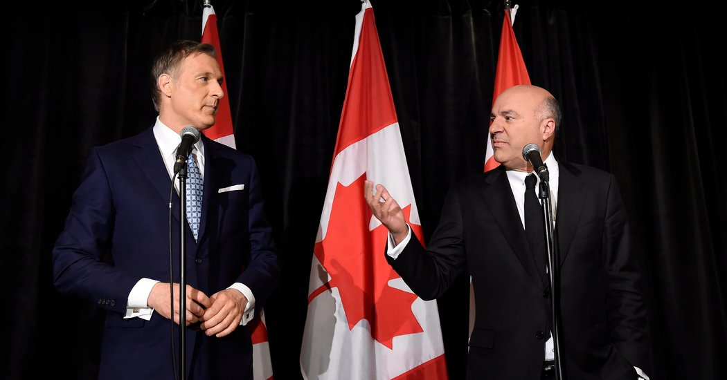 Kevin O'Leary, Reality TV Star, Ends Bid to Lead Canada's Conservatives
