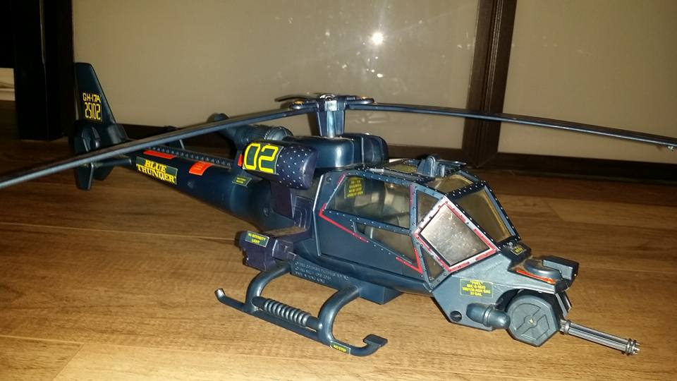 1983 Blue Thunder by Multi-Toys via collector Fortunato Forch Scolaro. https://t.co/efXQ6blYEG