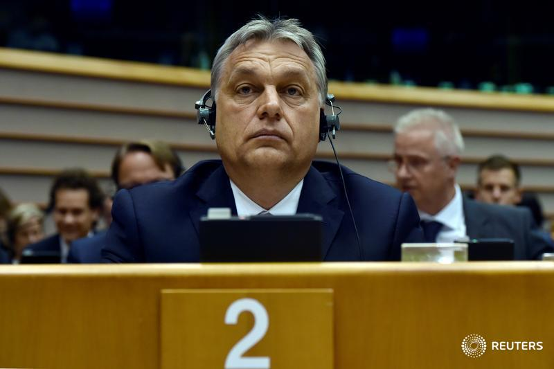 Hungary's Orban fights back after EU case over Soros university: