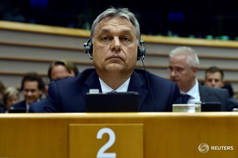 Hungary's Orban fights back after EU case over Soros university: