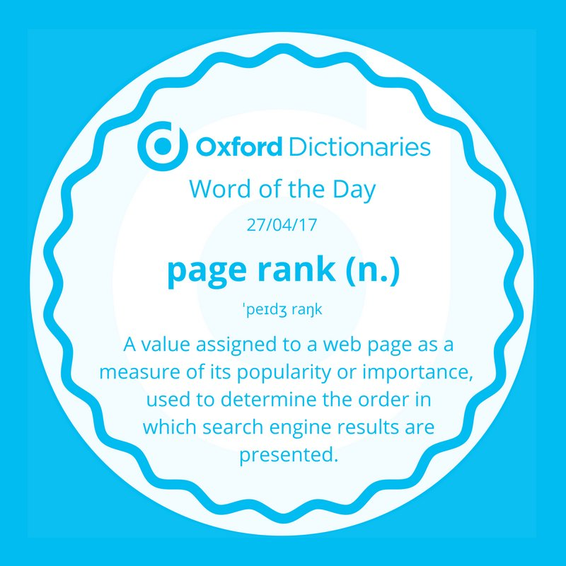 test Twitter Media - Word of the Day: page rank https://t.co/xJQT82GoqF (also one of our newly added entries this month!) https://t.co/MVbrbfTJsd