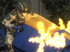 「地球防衛軍5」ではレンジャー用のバイクなどが復活。エアレイダーはレールガン搭載車輌や歩行タンクといった特殊な兵器に搭乗