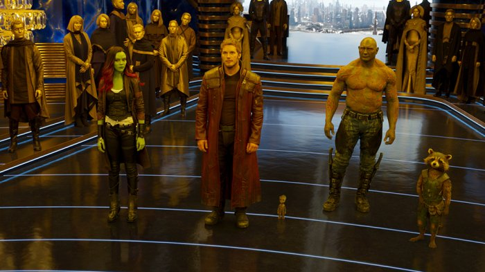 Where 'Guardians of the Galaxy Vol. 2' ranks in the @Marvel Cinematic Universe