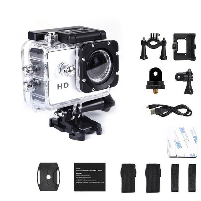 1080P Full HD Sport Waterproof Action Camera Giveaway!