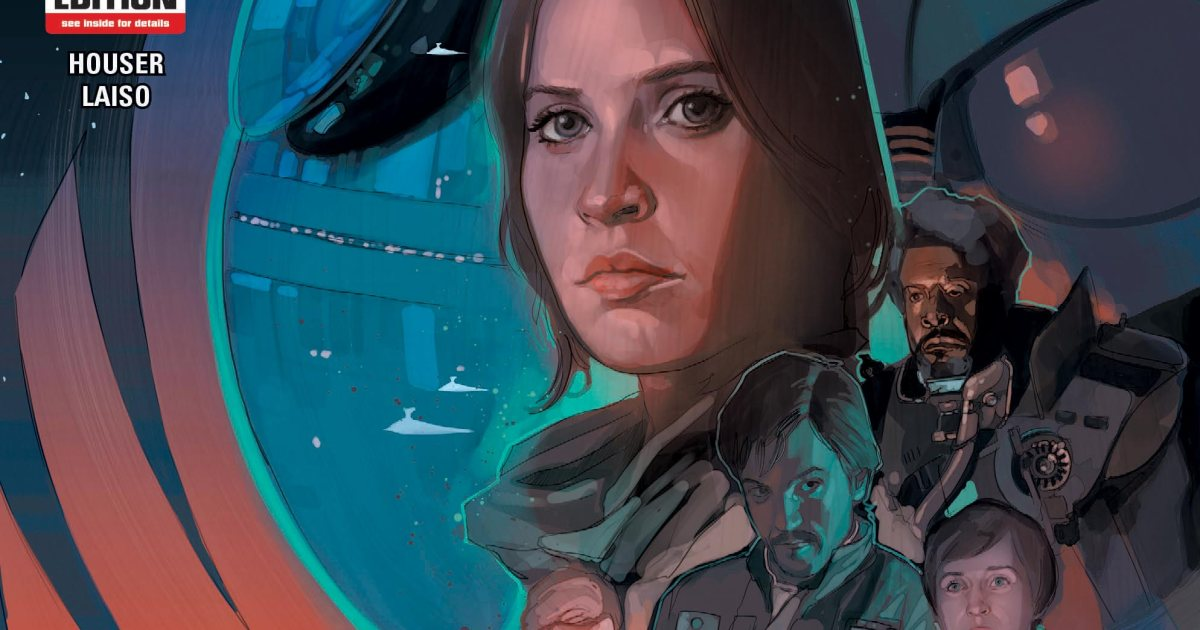 Inside @Marvel's RogueOne comic adaptation: