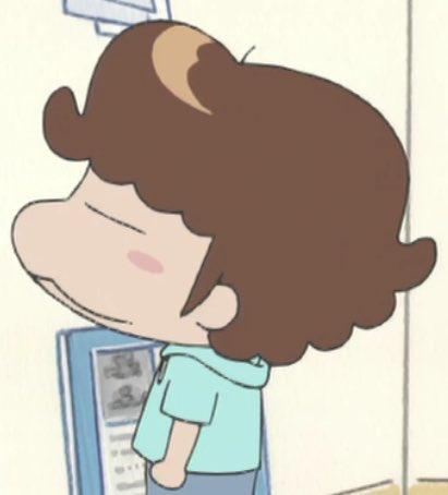 フレデリック好きならお気付きだろうが最近健司さんのヘアメイクは完全に後ろ髪までユズヒコに寄せている#あたしンち #フレデ